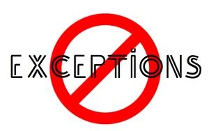 no-exceptions