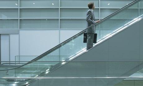 Office escalator