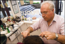 Tony Puglisi, Barber shop, 2100 Penn. Ave